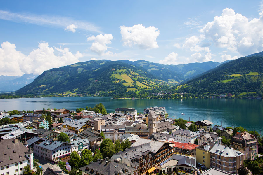 Town of Zell am See - approx. 12 km